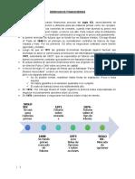 derivados financieros y fusion y adquisicion