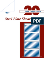 AISC - Design Guide 20 - Steel Plate Shear Walls