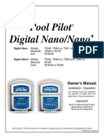 Pool Pilot Nano Manual