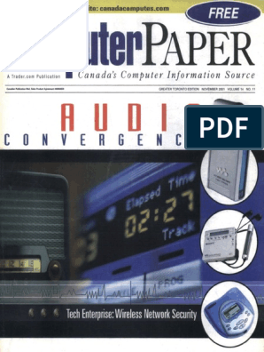 2001-11 the Computer Paper - Ontario Edition   Peer To Peer