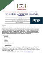 Evolucion de La Percepcion Espacial en Primaria - EVA MARIA_BARRIOS