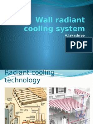 Introduction To Radiant Cooling System Heat Transfer Air Conditioning