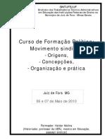 Curso de Formacao Politica - Movimento Sindical