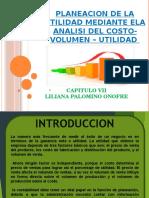 Planeacion de La Utilidad Mediante Ela Analisi Del Costo-Volumen – Utilidad