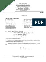 Greg Gachassin ethics decision