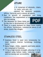 Steel Furniture Making