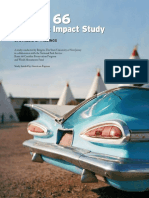 Route 66 Economic Impact Study—Synthesis