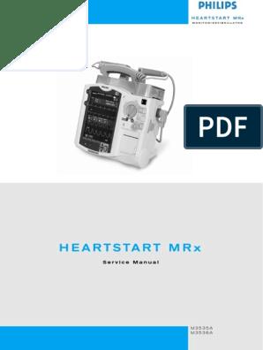 Philips HeartStart MRx - Service Manual | Calibration | Electrical