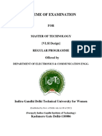 M.tech VLSI Design Syllabus