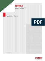 Uster Tester 6 Technical Data