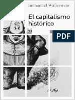La historia subjetiva del capital - Immanuel Wallerstein y Zizek