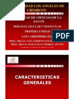 02. Carbohidratos o Glucidos Diapositivas