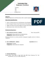 Meghanjan Resume