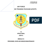 Military - US Air Force - AFQTP - 3E3X1-25 - Structural,Concrete,Masonry,Carpentry,Welding
