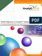 Code Data Mapping Application Migration | CDMA  Migration