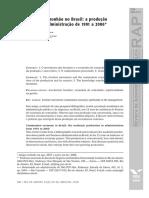 Economia de Comunhão No Brasil a Produção Acadêmica Em Administração de 1991 a 2006