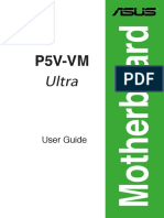asus p5v-Vm ultra motherboard manual