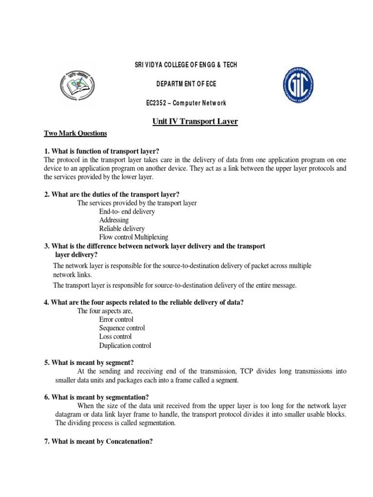DCN4.pdf   Network Congestion   Transmission Control Protocol