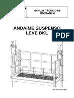 Manual Montagem Elevadores BKL Suspenso
