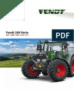 Fendt 200 Vario