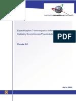 Especificacoes IGP V3.0
