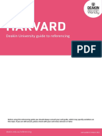 Deakin Guide to Harvard Updated 2 March 2015