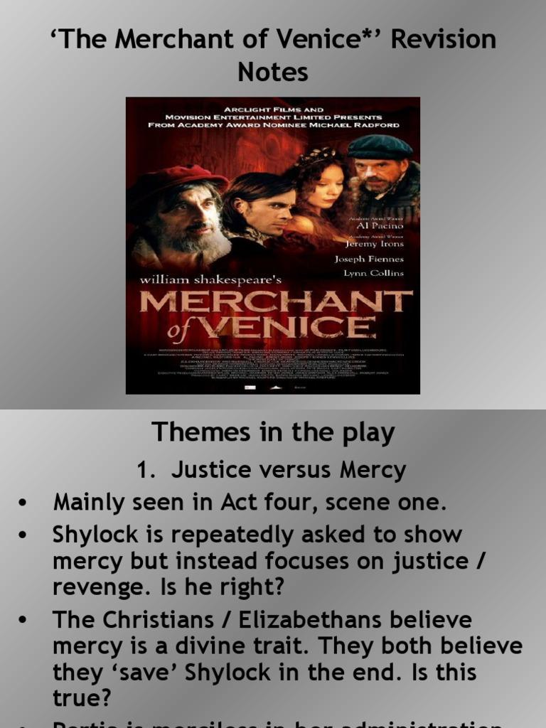 merchant of venice conclusion