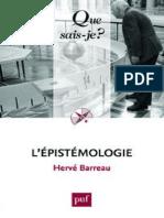 L'Epistemologie - Barreau Herve