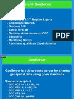 Presentazione GeoServer