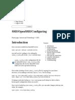 SSH OpenSSH Configuring - Community Help Wiki
