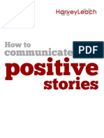 Communicating Positive Stories