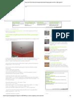 Cara menghitung kebutuhan material bahan plapond