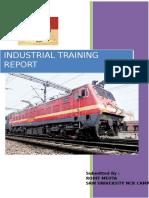 Delhi Railway Training Report and Project Report