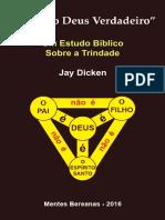 Folheto Trindade