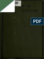 Analisis of Sensations Mach