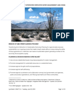 Anza-Borrego Desert Integrated Regional Water Management Planning Guidelines