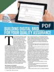 Building digital bridges for your quality assurance