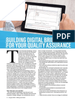 Building digital bridges for your quality assurance