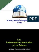 Los Instrumentos Musicales y Los Salmos