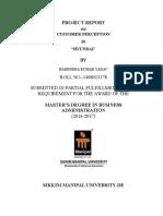 Harendra Kumar Yadav-Operation Project