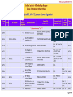 Course Schedule2016171