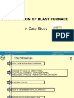 Construction of Blast Furnace