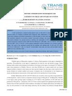 44. Ijasr - Effect of Moisture Conservation Techniques and Fertilizer