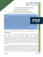 50. Ijasr -- Quantitative Analysis of Resistanceto Powdery Mildew