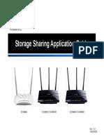 TD-W8980 V1 Storage Sharing AP