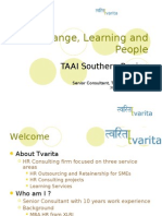 TAAI Change and Learning