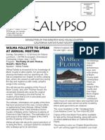 November-December 2007 CALYPSO Newsletter - Native Plant Society