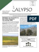 January-February 2008 CALYPSO Newsletter - Native Plant Society