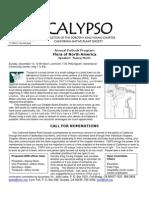 November-December 2009 CALYPSO Newsletter - Native Plant Society