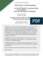 Lnc Investments, Inc. v. Banco Central De Nicaragua, Interested-Third-Party the Republic of Nicaragua, 228 F.3d 423, 2d Cir. (2000)